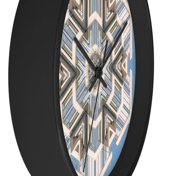 The Kaleidoscope City Wall Clock
