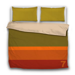 7 COLLECTION / STRIPED BEDDING SET