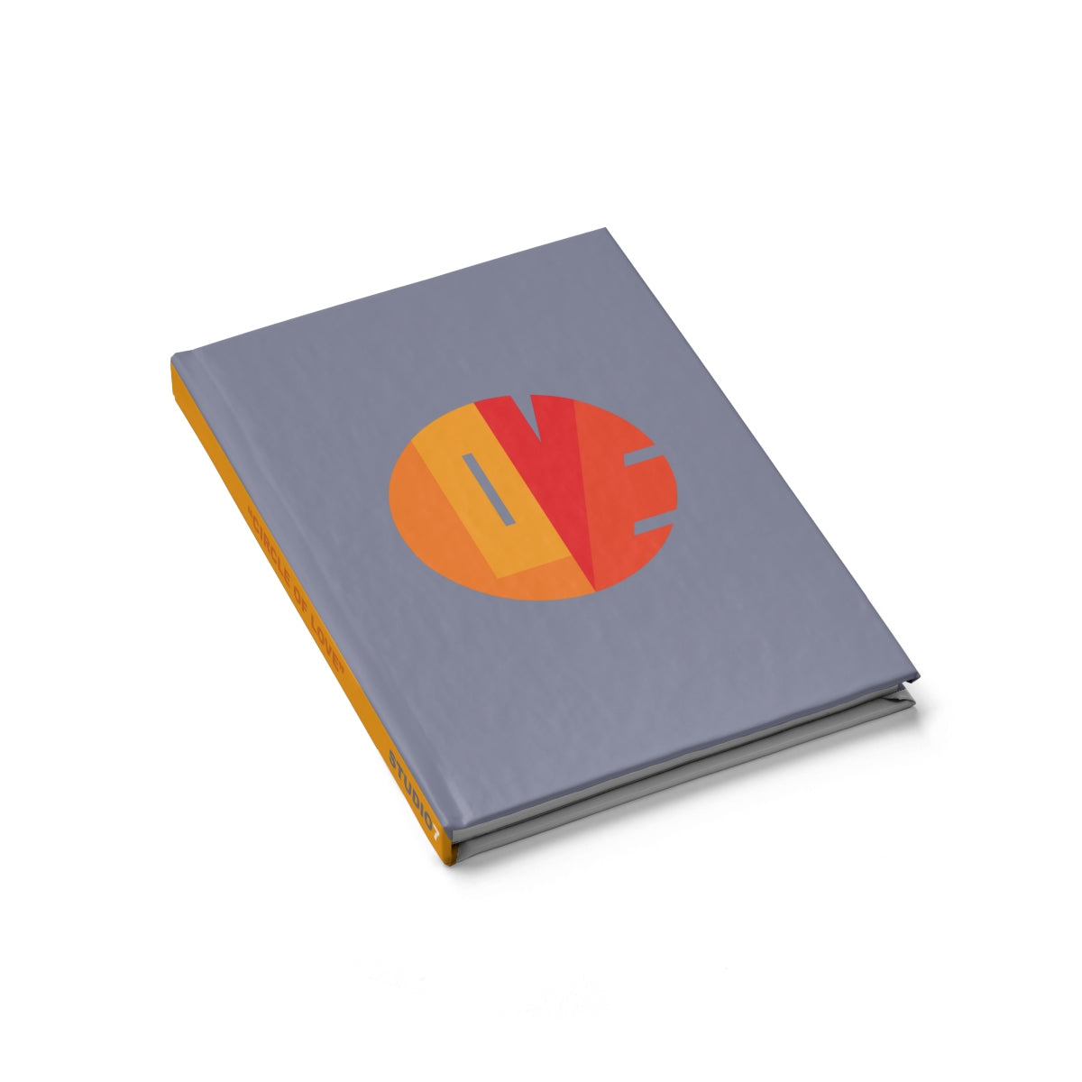 "YELLOW ""CIRCLE OF LOVE"" JOURNAL / NOTE PAD"