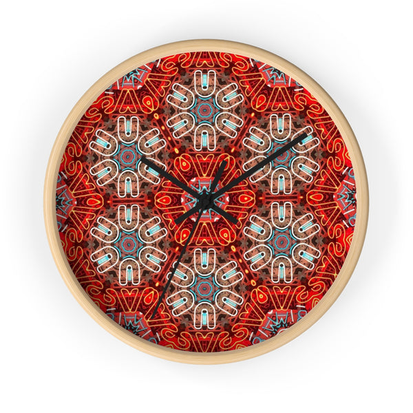 The Kaleidoscope Neon Clock