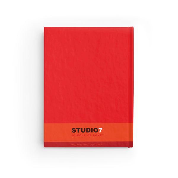 "RED ""CIRCLE OF LOVE"" JOURNAL / NOTE PAD"