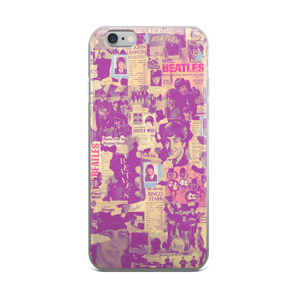 THE FAB FOUR iPHONE CASE 5/5S/SE, 6/6s, 6/6S PLUS CASE