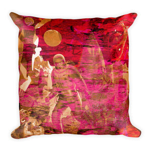 SCI-FY VINATAGE POP ART PILLOW