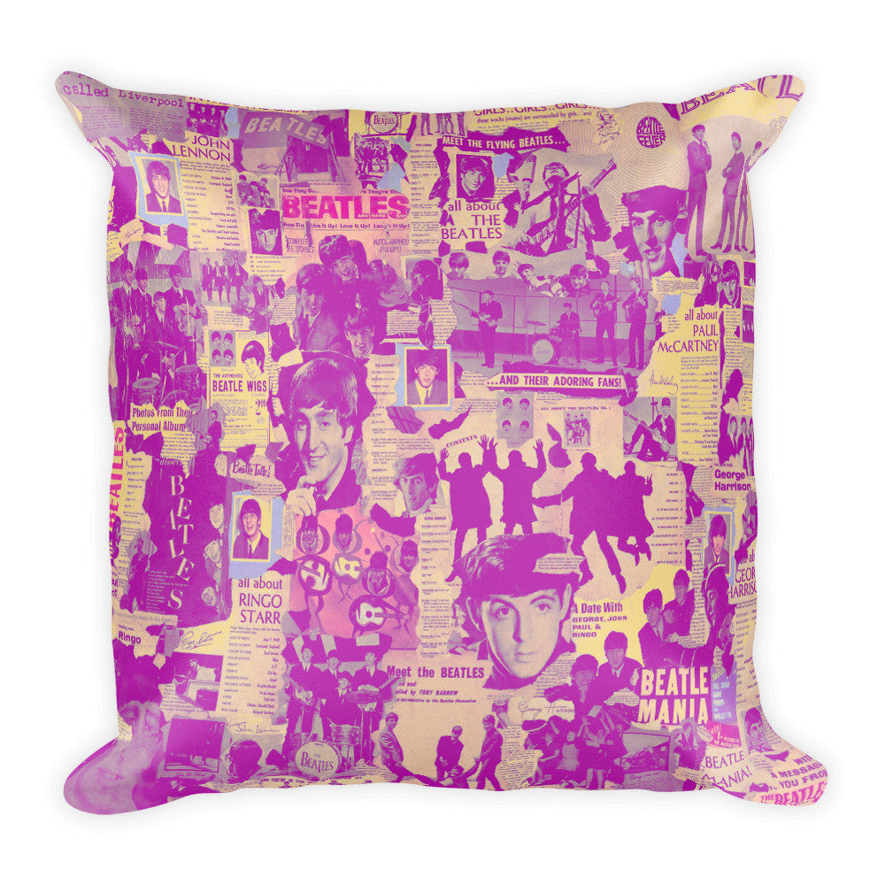 THE FAB FOUR SQUARE PILLOW