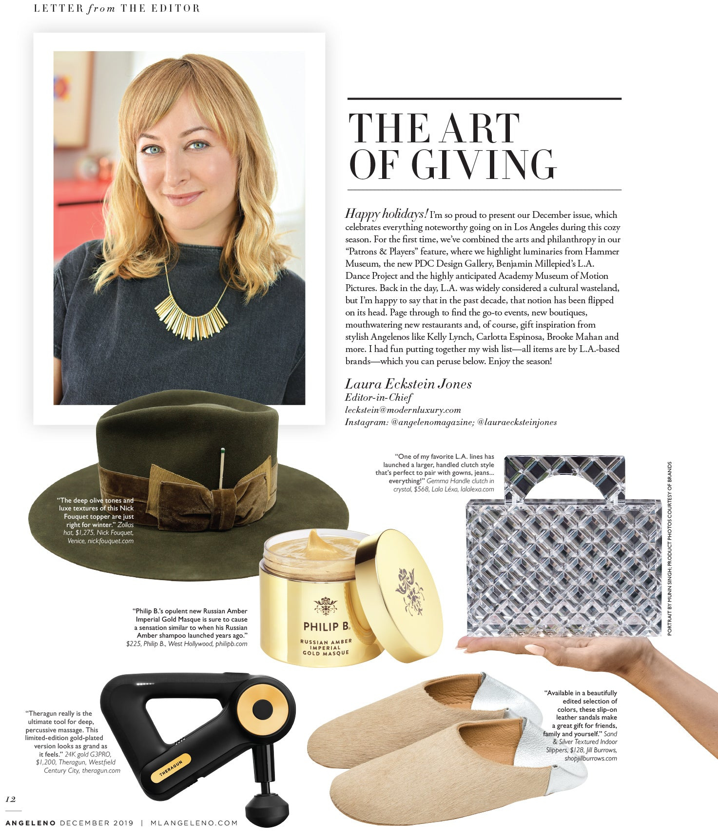 Angeleno Magazine |  Laura Eckstein Jones