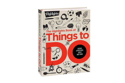 Things To Do Book for Kids Gift Guide