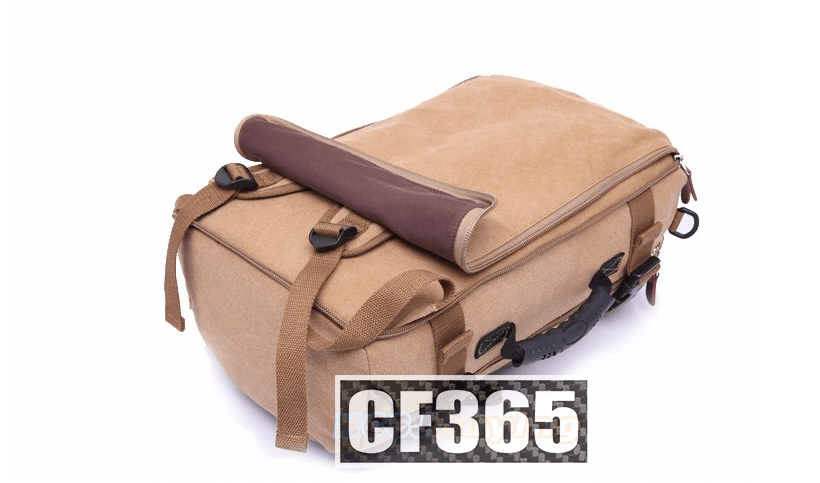 "CF365 Paris Traveler Backpack - carry on backpack 12.5""Lx20""Hx7.5""W  35-36L"