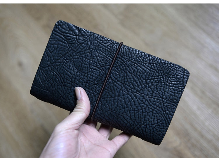 CF365 Genuine Handmade Leather Wallet For Travel