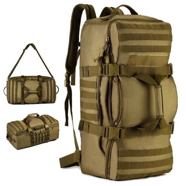 Camping Master CF365 Travel Tactical Backpack  56-75 L