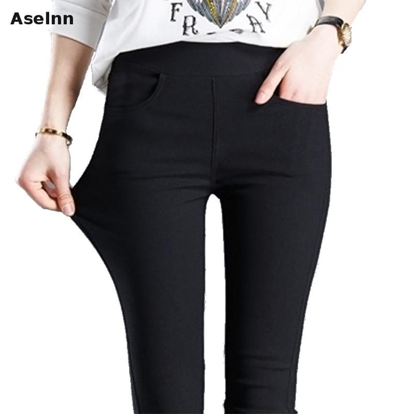 2017 ASELNN New Fashion Woman's Stretch Pants