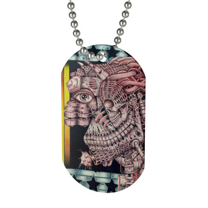 Red Man Eye Dog Tag