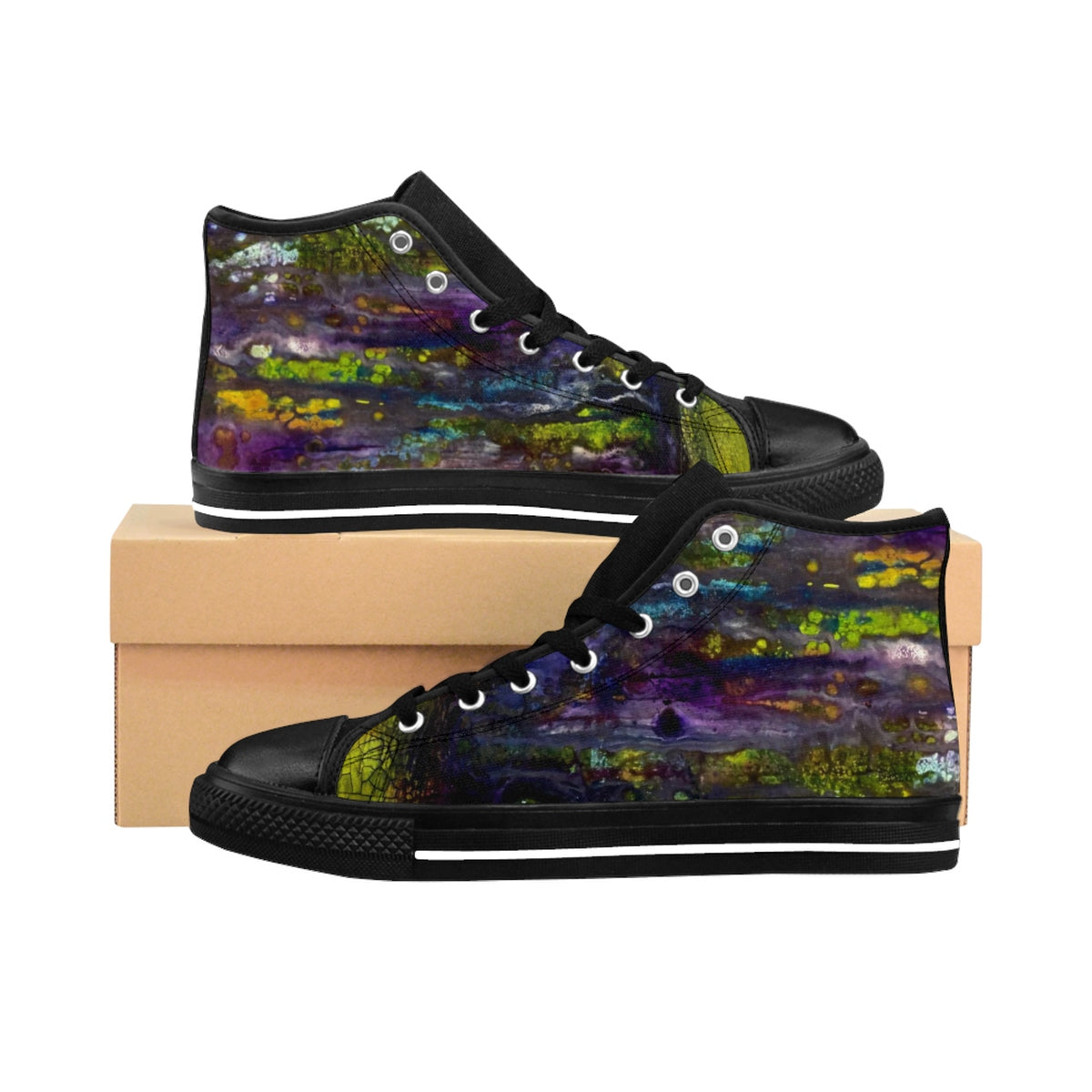 Entrance to Fairy Forest Women's High-Top Sneakers