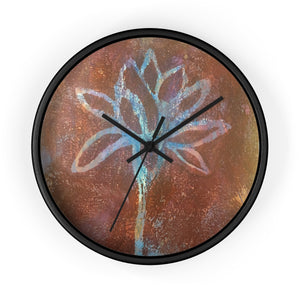 Lotus Uplifted I Wall Clock