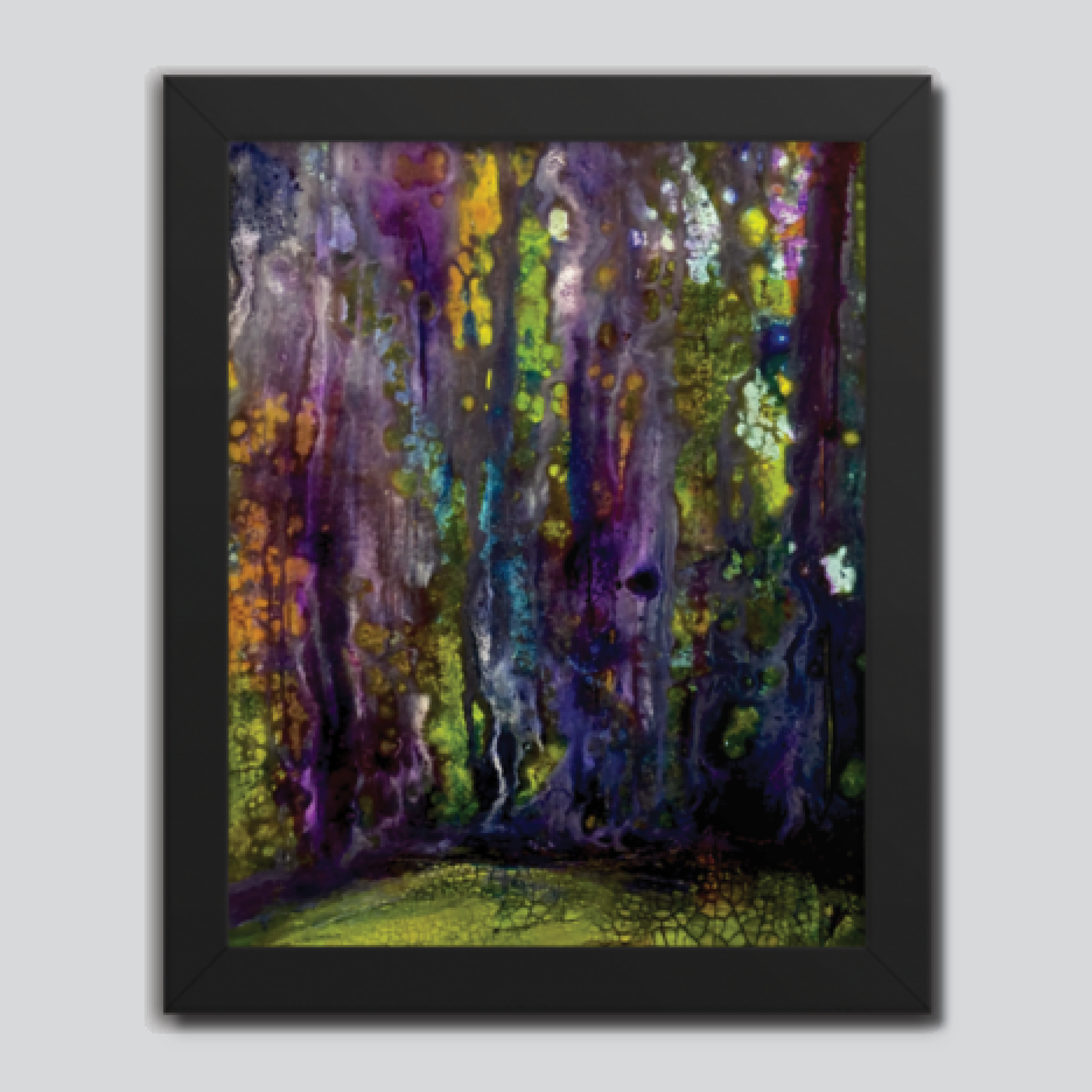 Entrance to Fairy Forest Framed poster