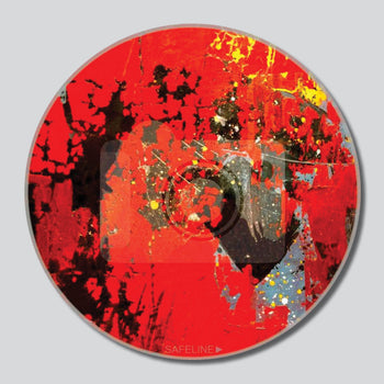 "Martian Love 11""/16""/20"" Round Giclee Printed On High Gloss Metal"