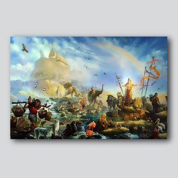 """The New Creation 33.8"""" x 22"""" Limited Edition Giclee' Printed On High Quality Canvas"""