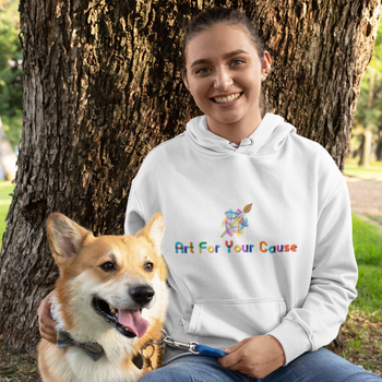 Art For Your Cause Hooded Sweatshirt