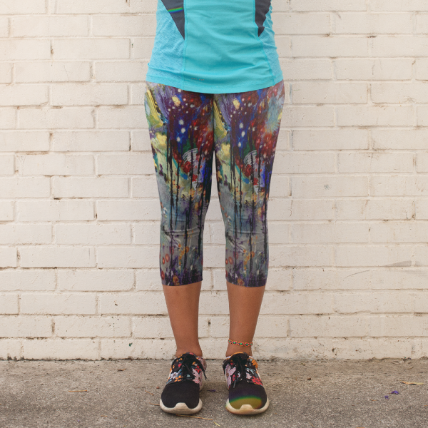 Dripping Springs Yoga Capri Leggings