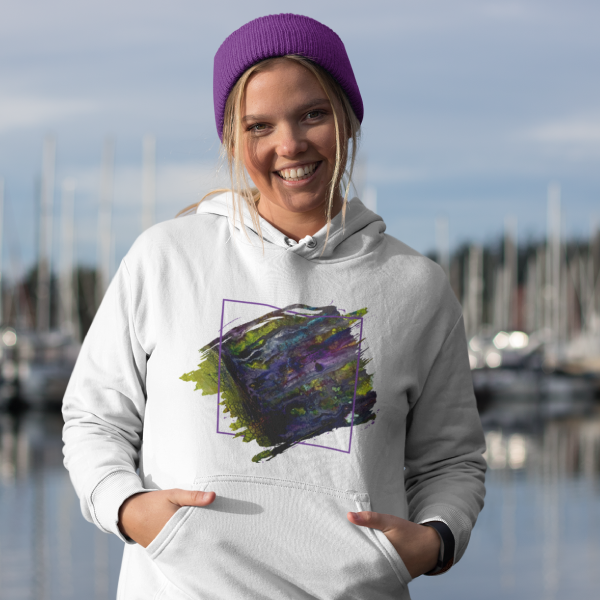 Entrance to Fairy Forest Hooded Sweatshirt
