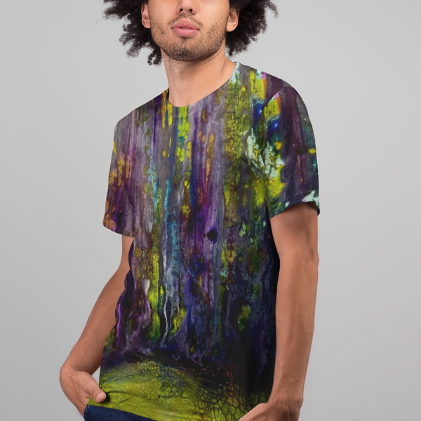 Entrance to Fairy Forest All Over Print Men's T-shirt