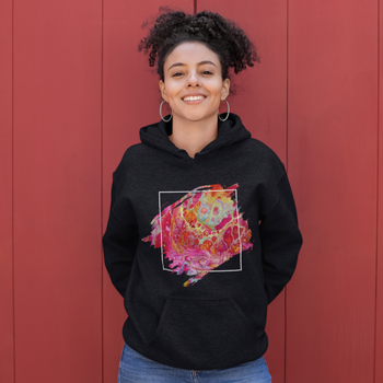Heart Chakra Hooded Sweatshirt