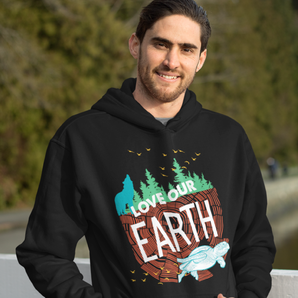 Love Our Earth Hooded Sweatshirt