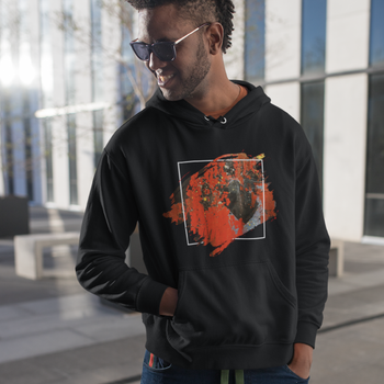 Martian Landscape Hooded Sweatshirt