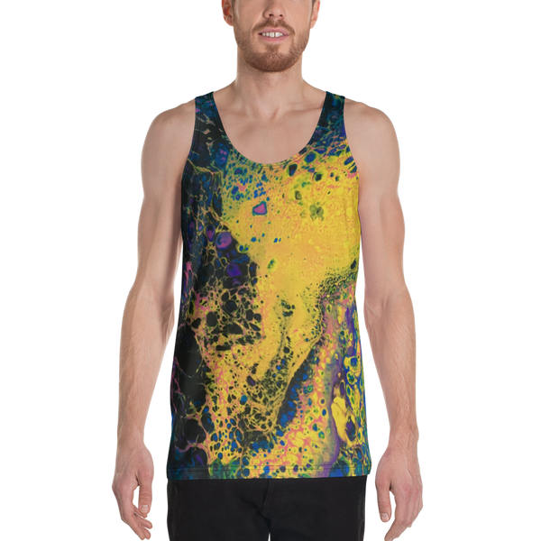 Solar Flare All Over Print Unisex Tank Top