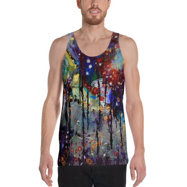 Dripping Springs All Over Print Unisex Tank Top