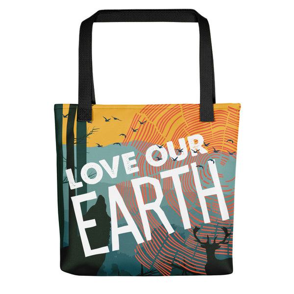 Love Our Earth Limited Edition Earth Day 2019 Tote bag