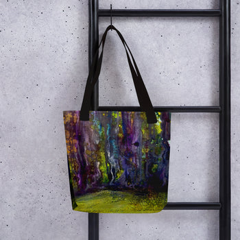Entrance to Fairy Forest Tote Bag