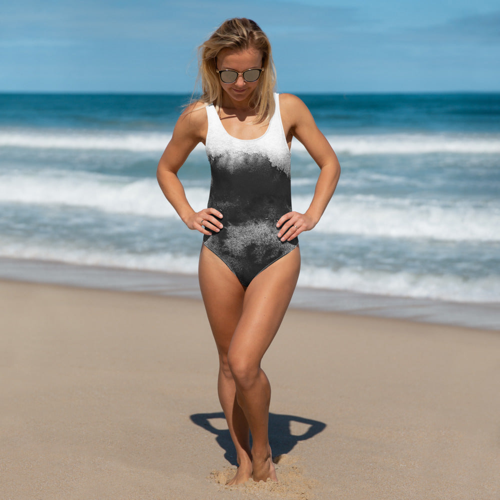 Sumi Ink One-Piece Swimsuit