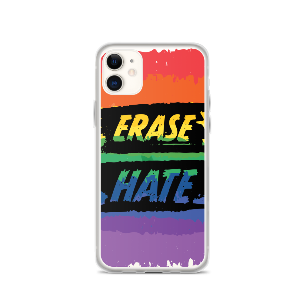 Erase Hate iPhone Case