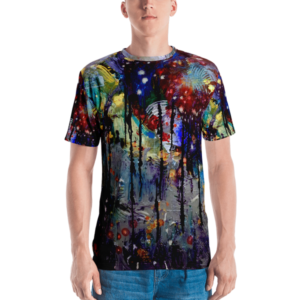 Dripping Springs All Over Print Men's T-shirt