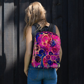 Dripping Dahlias Backpack