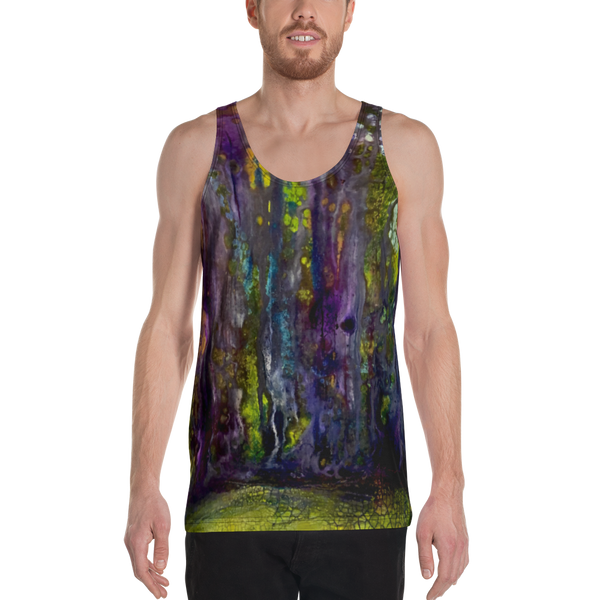 Entrance to Fairy Forest All Over Print Unisex Tank Top