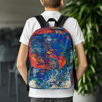 Acid Trip All Over Print Backpack