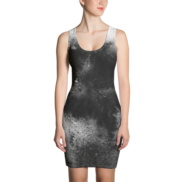Sumi Ink All Over Print Dress