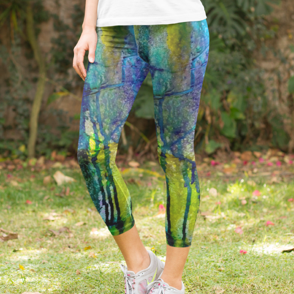 Ridgeline Yoga Capri Leggings