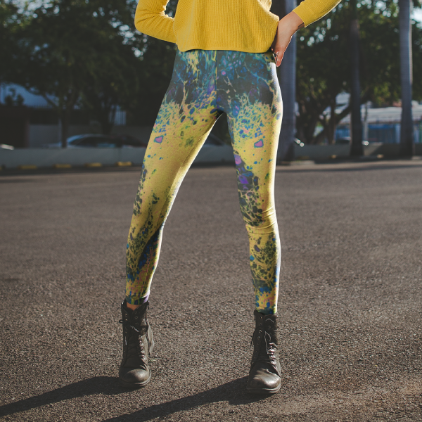 Solar Flare Yoga Leggings