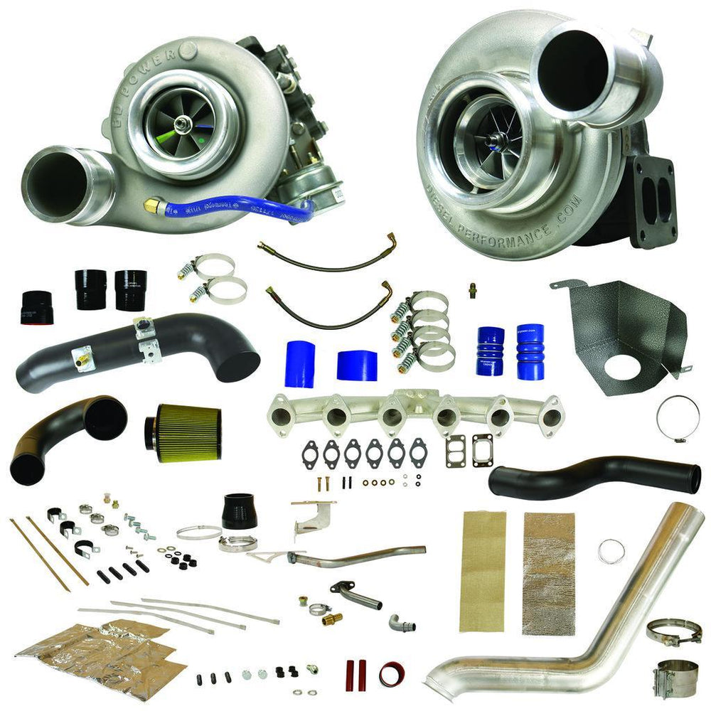 2010-2012 Cummins RT700 Trackmaster Twin Turbo Kit (1045481)-Turbo Kit-BD Diesel-1045481-Dirty Diesel Customs
