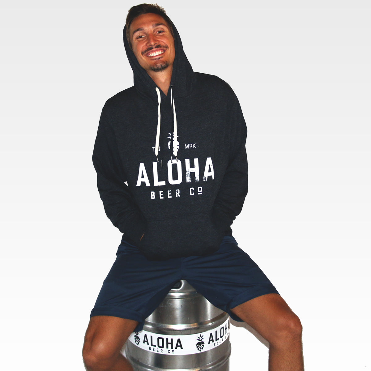 Aloha Beer Co. Pullover Logo Hoodie