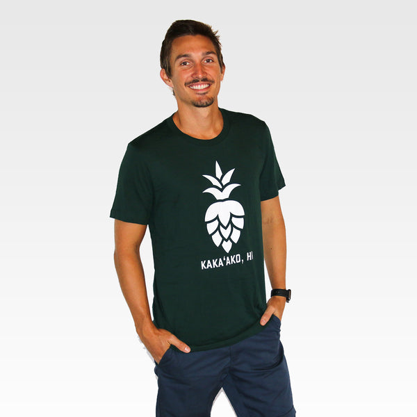 Mens Pinehopple Logo Tee