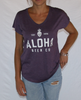 Ladies Aloha Logo V-neck Tee
