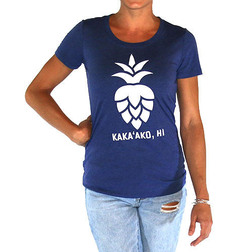 Ladies Pinehopple Logo Tee