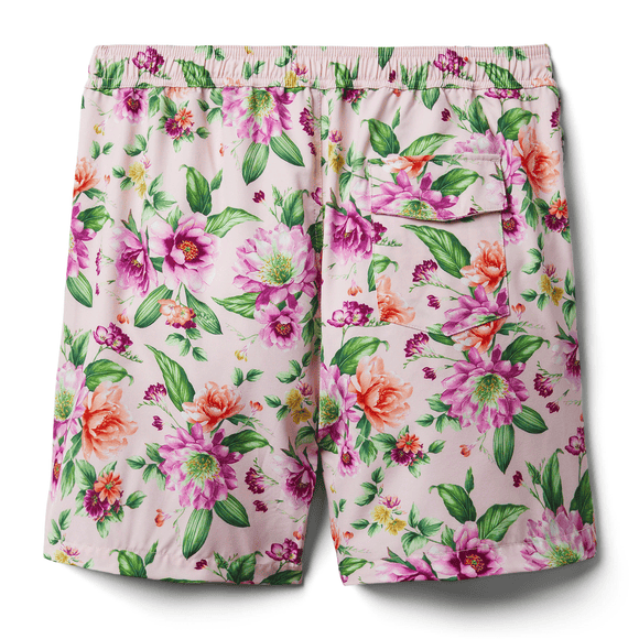Men's Floral Swim Trunk