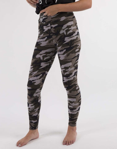 Buttery Soft Leggings- CAMO