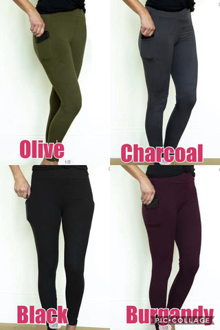 Buttery soft leggings- with pockets