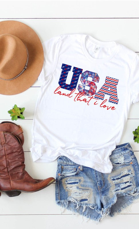 USA- land that i love tee