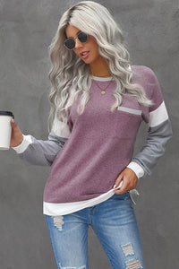 Monica Sweater in pink